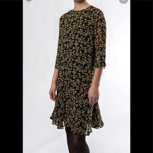 Ganni Marceau Georgette Dress 38 medium